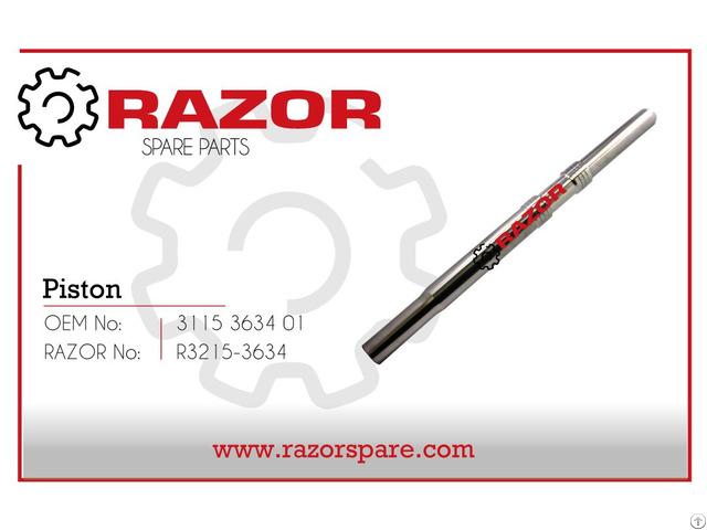 Piston 3115 3634 01 Razor Spare Parts