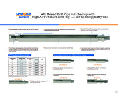 Dth Drill Pipe Or Rod For Deep Hole Drilling