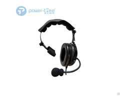 Noise Cancelling Aviation Single Side Headset