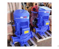 Vertical Inline Centrifugal Booster Circulating Pump