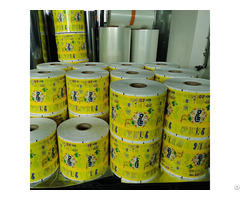 Colorful Printing Plastic Packaging Film For Food