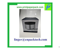 Custom Corrugated Paper Kettle Shipping Container Retail Gift Box