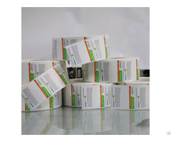 Adhesive Barcode Sticker Roll Direct Thermal Paper Label
