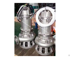 Stainless Steel Sewage Submerged Pump