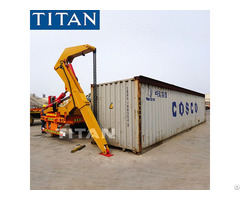 40ft Side Lifter Container Loading Trailer For Sale