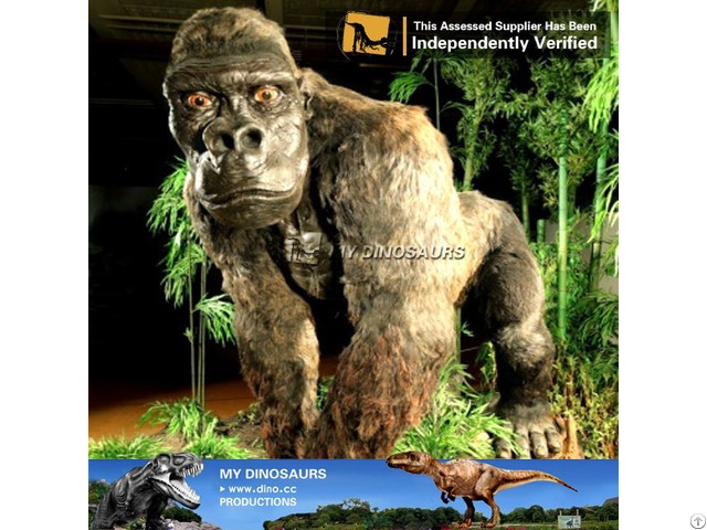 My Dino Animatronic Animal Gorilla For Amusement Park