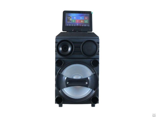 Trolley Wireless Bluetooth Speaker With Fm Bt Sd Usb