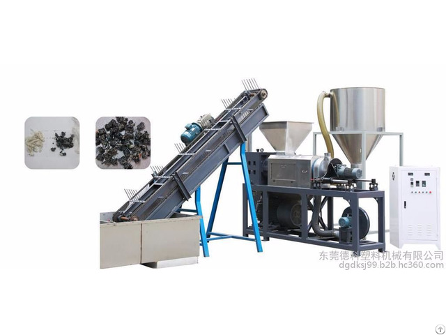 Pp Pe Film Recycling Washing Dryer Line Plastic Squeezer