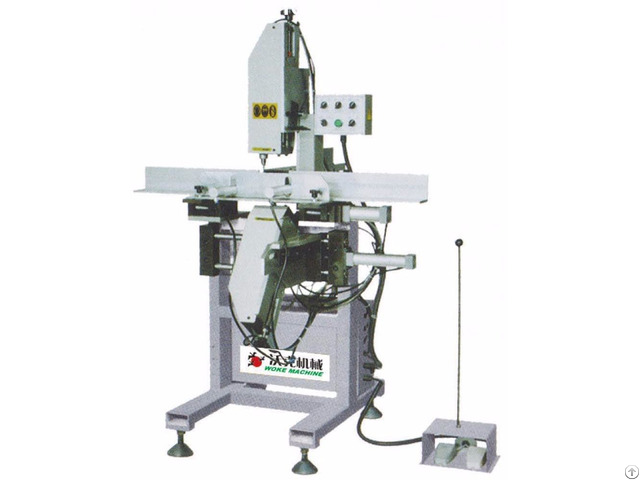 Plastic Profiles Three Axis Automatic Water Slots Milling Machine