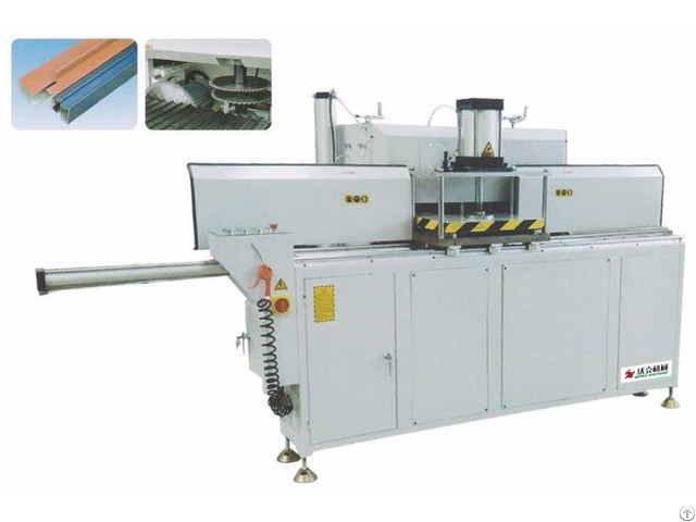Aluminum Profile Combined End Milling Machine
