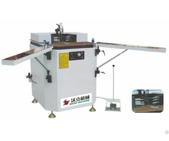 Aluminum Window Door Heavy Corner Combining And Crimping Machine