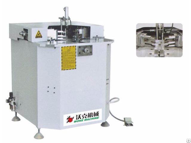 Pneumatic Corner Combing And Crimping Machine