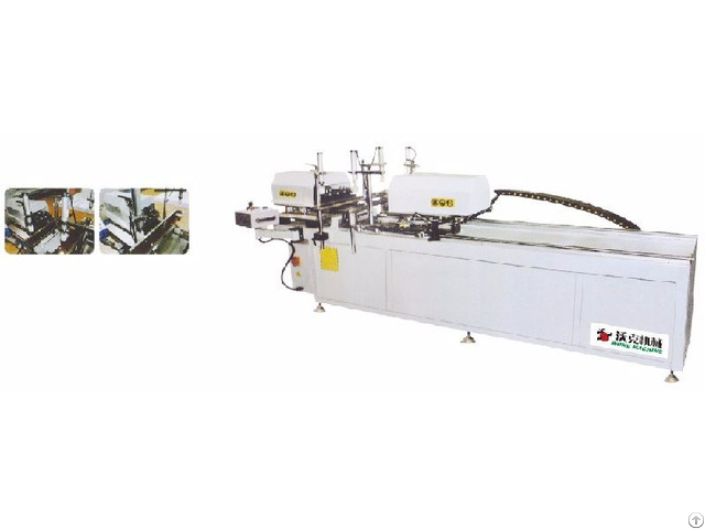 Aluminum Alloy Double Head Drilling Machine