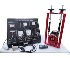 Three Phase Induction Motor Trainer