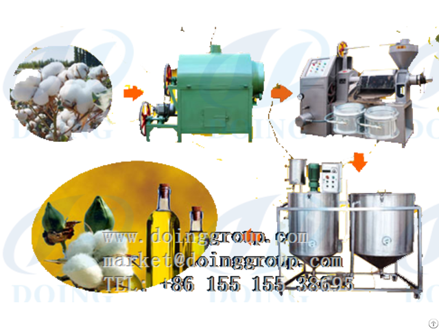 Cotton Seed Oil Pressing Equipment