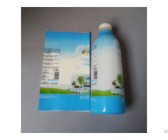 Printed Pet Shrink Film For Milk Bottle Packaging