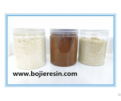 Ethylene Glycol Purification Ion Exchange Resin