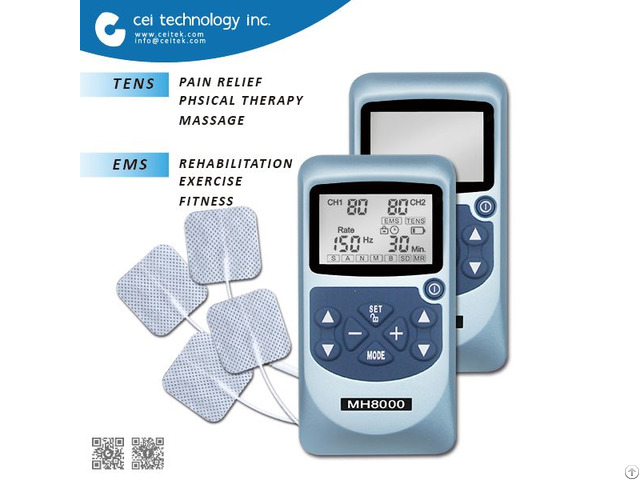 Portable Tens Ems Combo Body Massager Machine