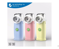 Fda Ce Iso Approved Ultrasonic Portable Nebulizer