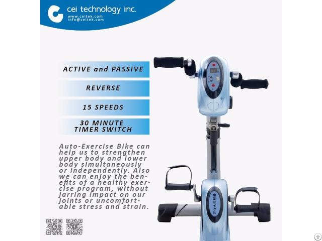 Fitness Rehabilitation Equipment Auto Exercise Bike
