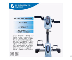 Fitness Rehabilitation Equipment Auto Exercise Bike