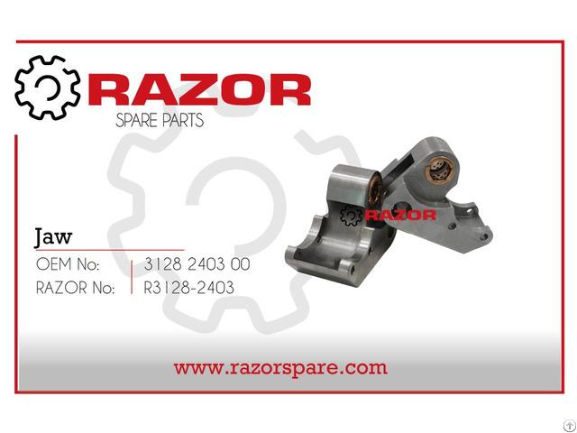Jaw 3128 2403 00 Razor Spare Parts