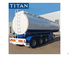 40000l Tri Axle Fuel Tanker Trailer For Sale In Mauritania