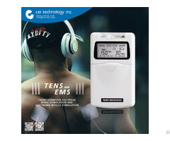 Body Building Portable Tens Ems Muscle Stimulation Device