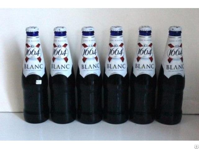French Origin Kronenbourg Blanc Beer 1664 In Differrent Sizes Bottles Cans