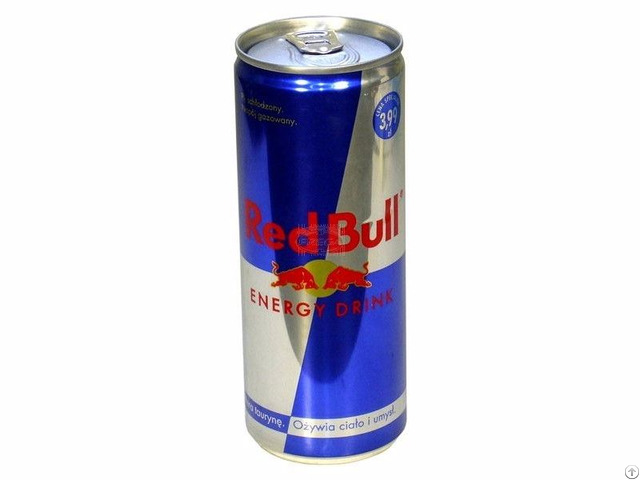 Original Red Bull 250 Ml From Austria With English Texts