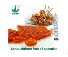 High Quility Seabuckthorn Fruit Oil Capsules With Good Price