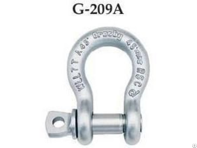 Crosby G 209 Bow Shackles