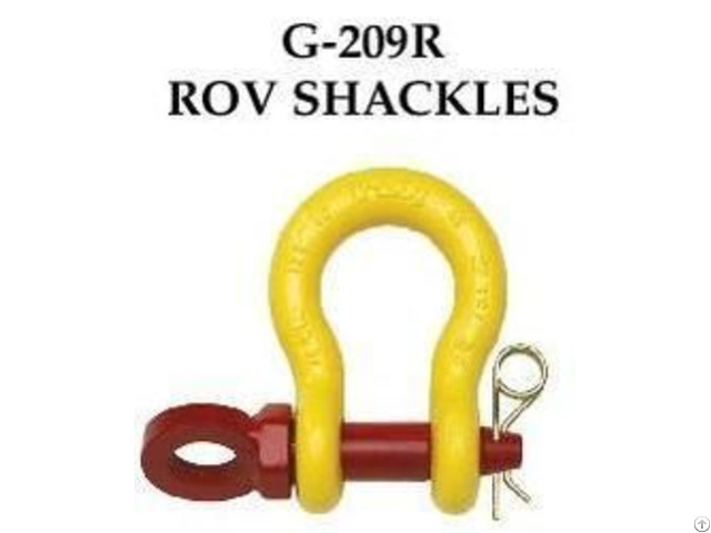 Crosby G 209 R Rov Shackles