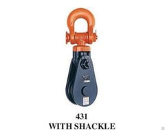Mckissick 431 With Shackle Snatch Blocks