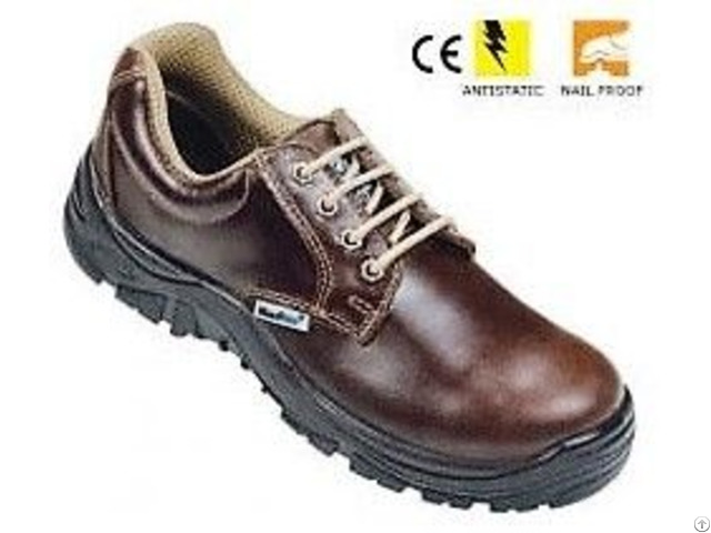 Vaultex Brown Safety Shoes