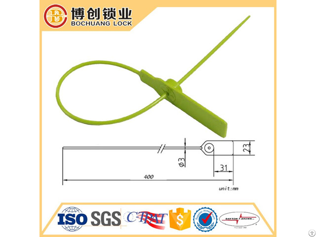 Security Plastic Seal Bc Ps104