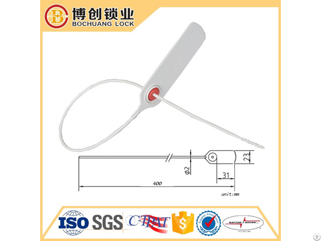Disposable Plastic Seal Bc Ps107