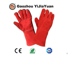 Heat Resistant Protective Welding Gloves With Ce
