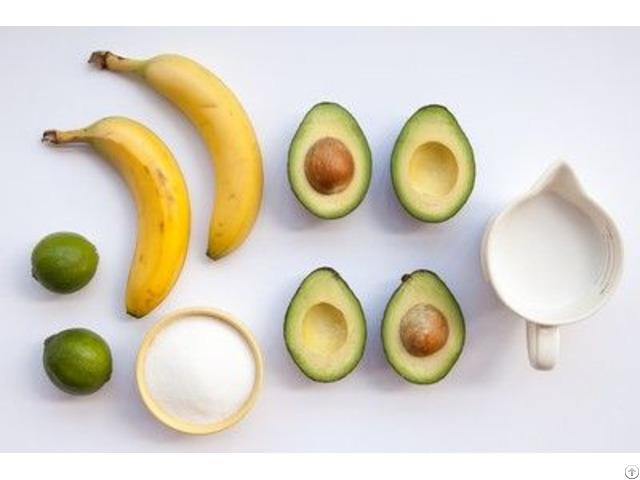 Banana Avocado Frozen Fresh