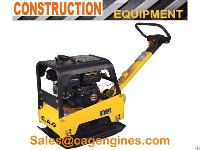 165kg Hydraulic Reversible Plate Compactor
