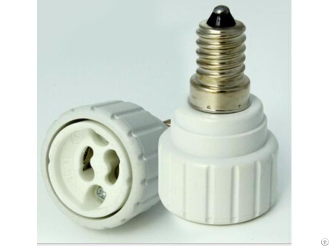 E14 To Gu10 Flame Retradant Lamp Holder
