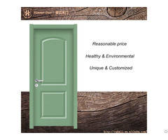 Green Composite Drawing Room Door With Pine Paint