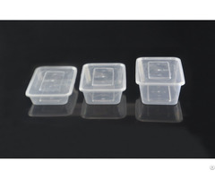 Disposable Microwaveable Plastic Food Containers