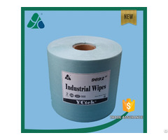 Economical Wood Pulp Polyester Industrial Wipes