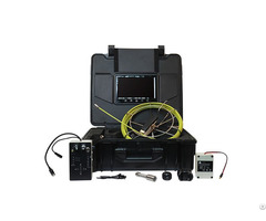 9inch Push Rod Cable Camera System For Sewer Inspection Detector