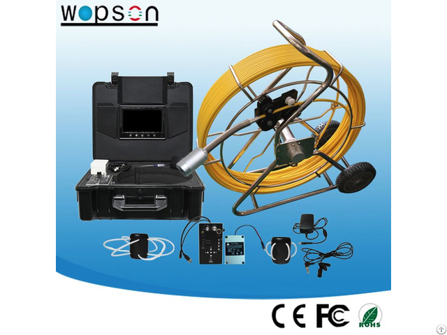 120m Cable Drain Pipeline Inspection Camera With Dvr