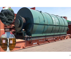Tyre Manufacturing Pyrolysis Plant For Sale