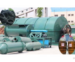 Old Tyre Recycling Pyrolysis Plant