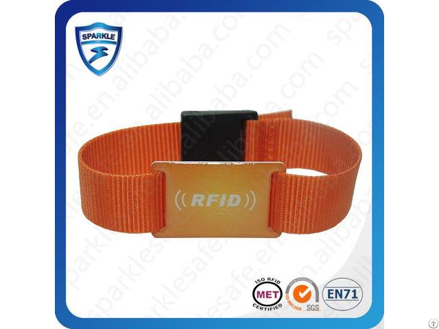 High Quality Active Nylon Rfid Wristband