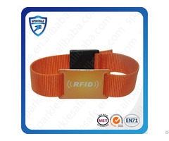 High Quality Active Nylon Rfid Wristband